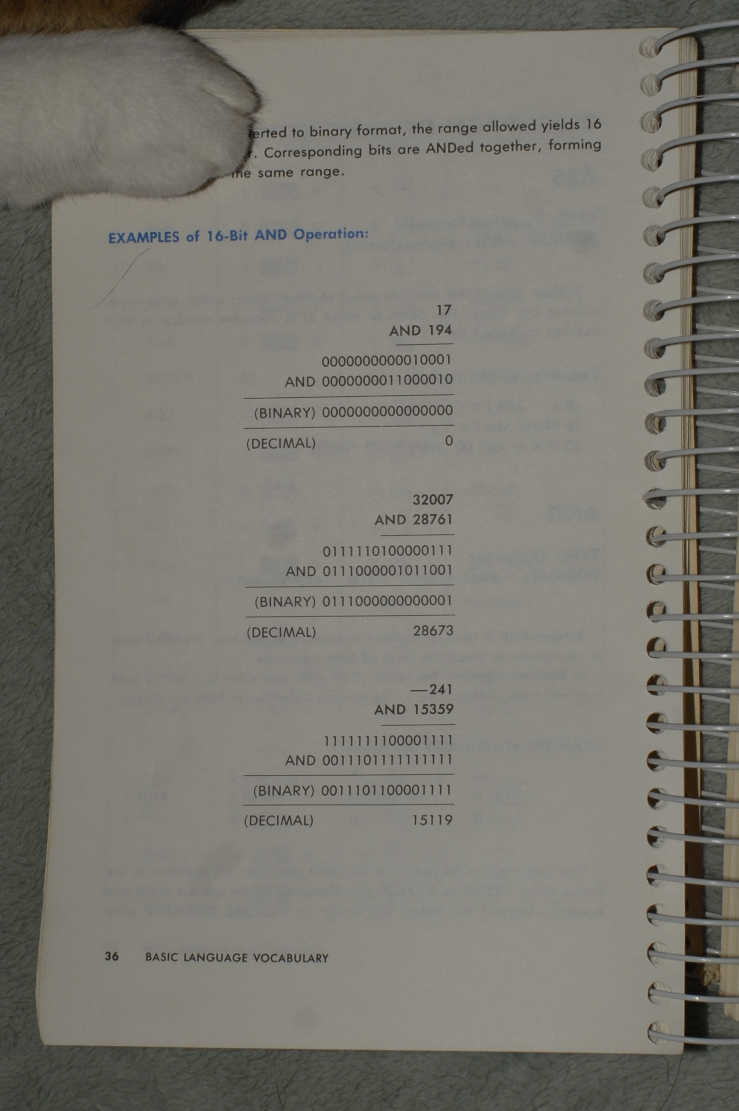 Commodore 64 Programmer's Reference Guide, Page 36 < Full Size >